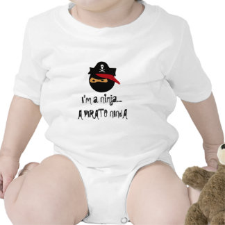 ninja del pirata, soy un Ninja….UN NINJA DEL PIRAT Trajes De Bebé