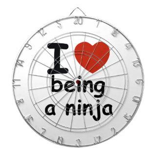 ninja design dartboard