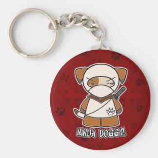 Ninja Doggy! In Red Keychain