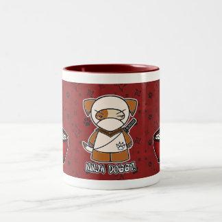 Ninja Doggy! With Rice Bowl Mug