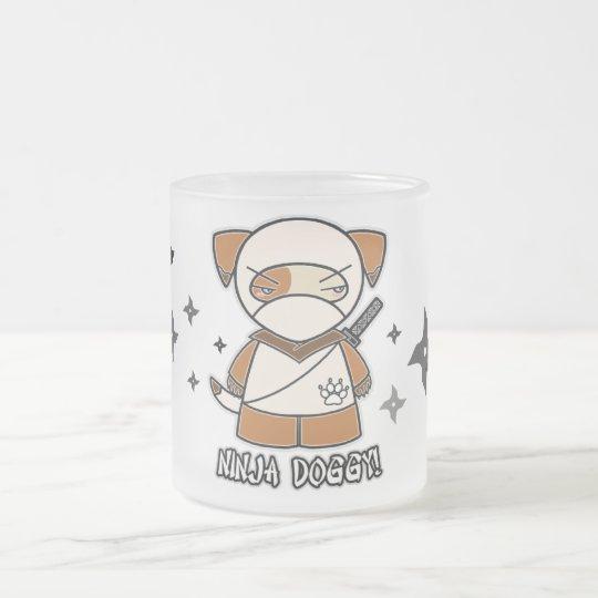 Ninja Doggy! With Shurikens Mug