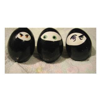 Ninja Eggs Card