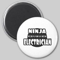 Ninja Electrician Fridge Magnet
