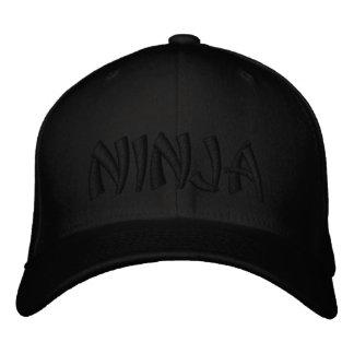 Ninja Embroidered Hats