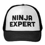 NINJA EXPERT fun ironic slogan trucker hat
