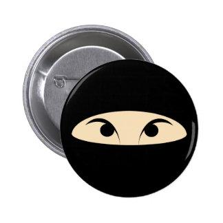 Ninja Face Pinback Buttons
