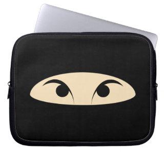 Ninja Face Computer Sleeve
