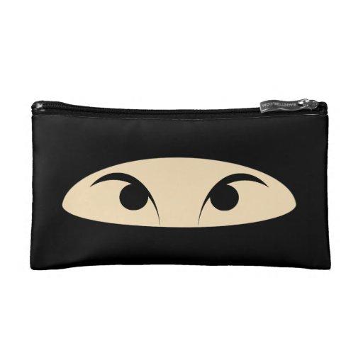 Ninja Face Cosmetic Bag
