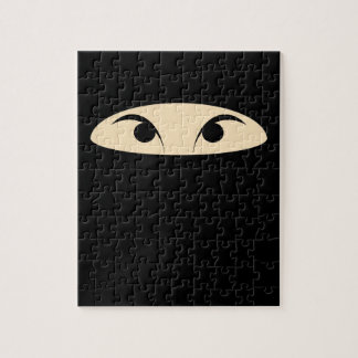 Ninja Face Jigsaw Puzzle