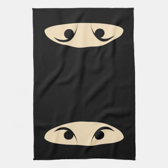 Ninja Face Towel