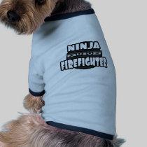 Ninja Firefighter Dog Tee