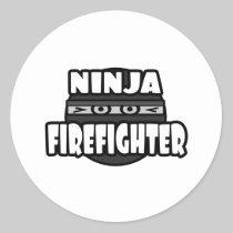 Ninja Firefighter Stickers