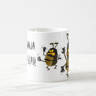 Ninja Fleas Coffee Mug