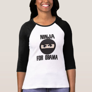 Ninja for Obama T-Shirt