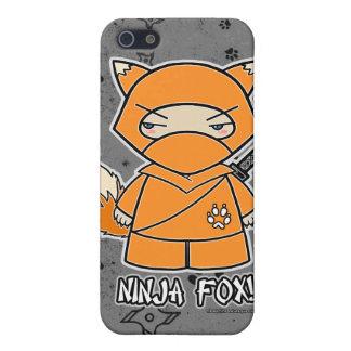 Ninja Fox! Ninja iPhone 4 Case Grey