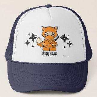 Ninja Fox! With Shurikens Hat