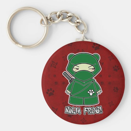Ninja Frog! In Red Keychain