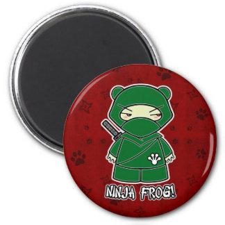 Ninja Frog! In Red Magnet