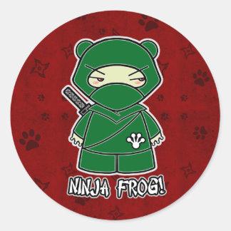 Ninja Frog! In Red Sticker