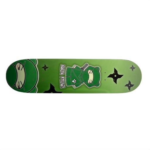 Ninja Frog! Skateboard