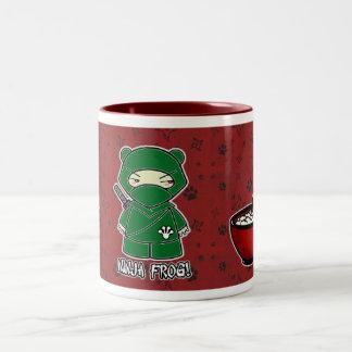 Ninja Frog! With Rice Bowl Mug