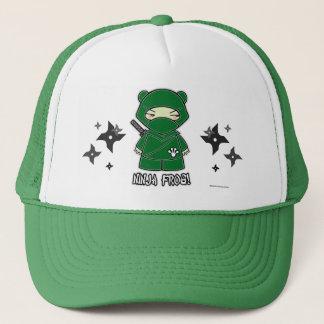 Ninja Frog! With Shurikens Hat