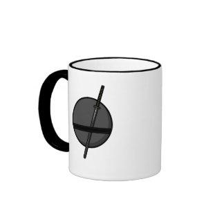 Ninja - frontback ringer coffee mug