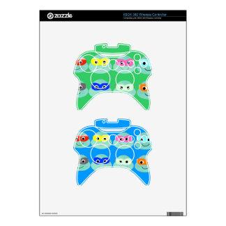 ninja game console turtles fun kick win xbox 360 controller decal