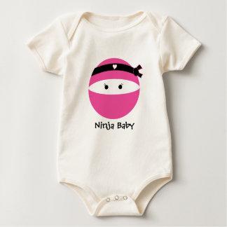Ninja Girl Baby Bodysuit