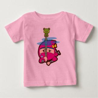 Ninja Girl Baby T-Shirt