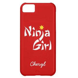 Ninja Girl customisable iphone 5 case