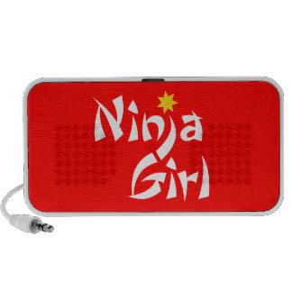Ninja Girl Mini Speakers