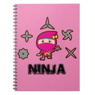 Ninja Girl Notebook