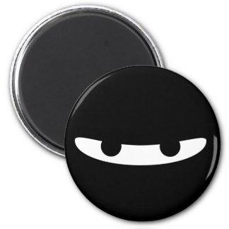 Ninja Glare! 2 Inch Round Magnet