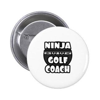 Ninja Golf Coach 2 Inch Round Button
