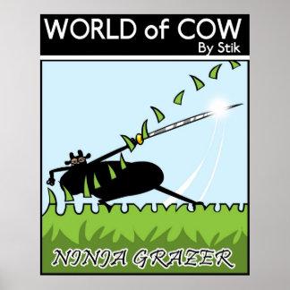 Ninja Grazer Poster