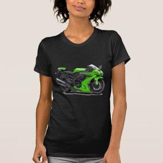 Ninja Green Bike T Shirts