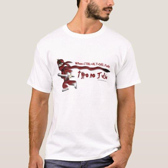 "Ninja Guy-Den ""Typo no Jutsu"" T-shirt"