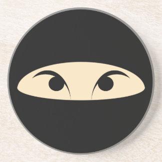 Ninja hace frente posavasos personalizados