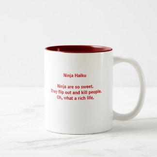 Ninja Haiku Mug