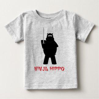 Ninja Hippo Baby T-Shirt