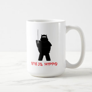 Ninja Hippo Coffee Mug