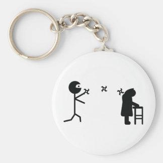 ninja icon keychain