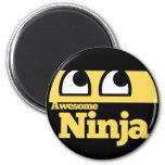 Ninja impresionante imanes de nevera