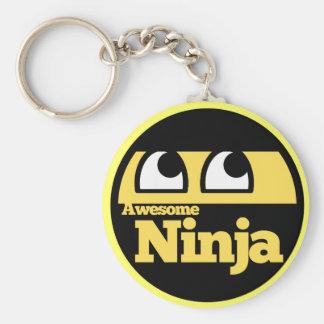 Ninja impresionante llavero