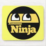 Ninja impresionante tapetes de raton