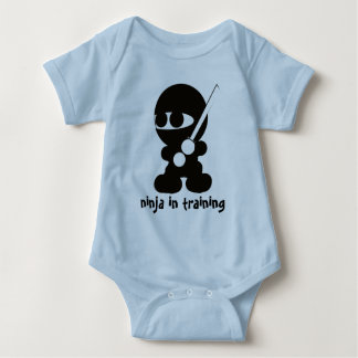 Ninja in training baby bodysuit