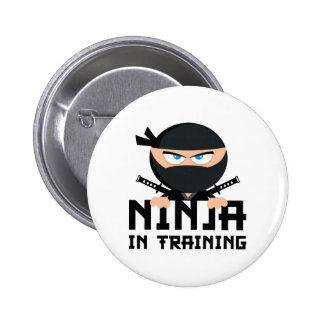 Ninja In Training Pinback Button