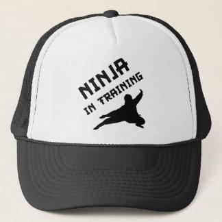 Ninja In Training Trucker Hat