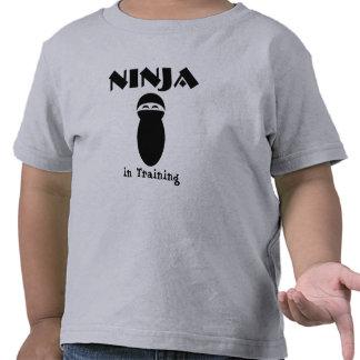 Ninja in Training Shirts